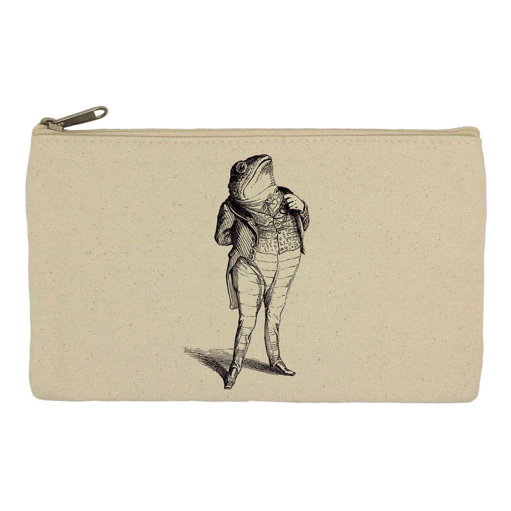 Toad in a suit pencil case