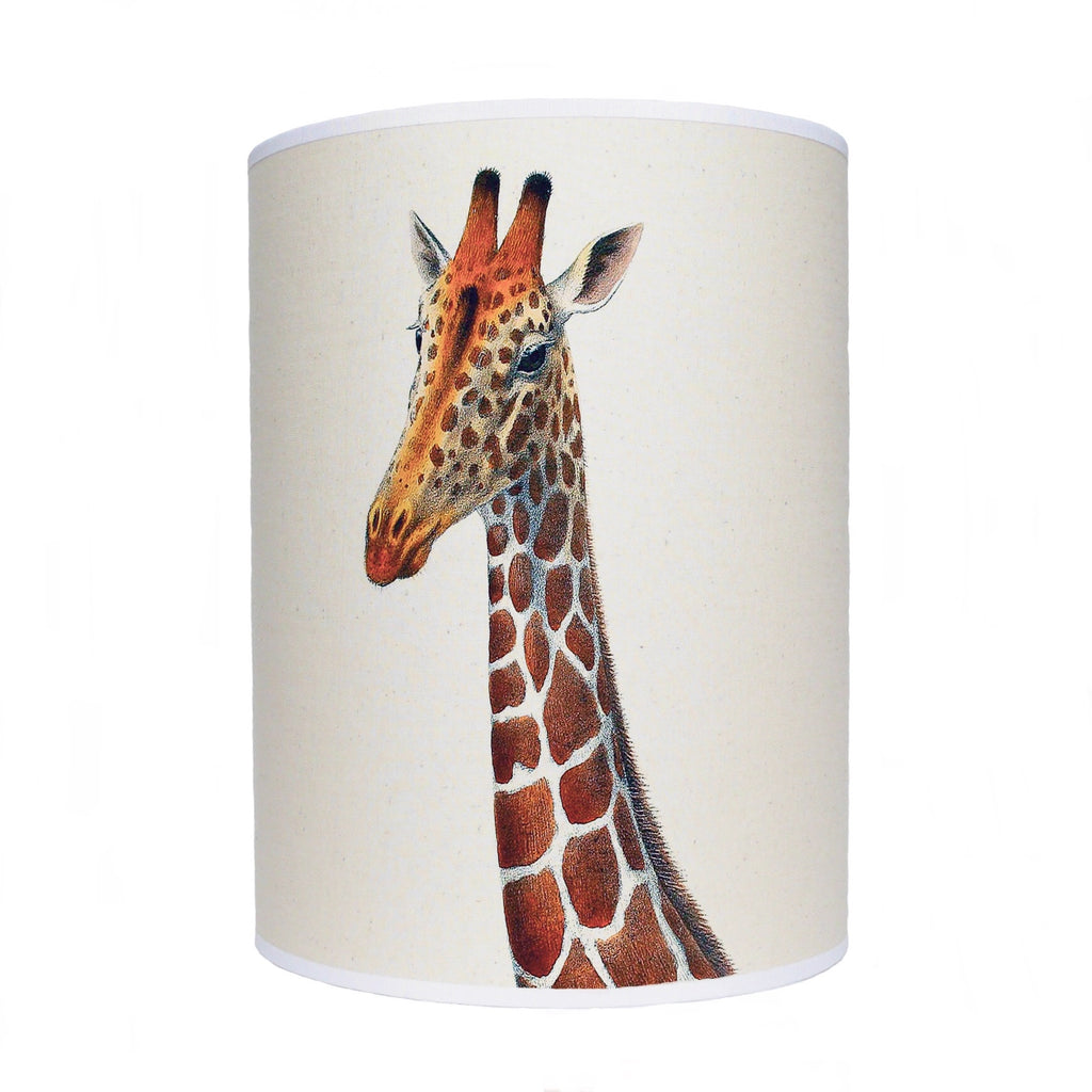 Giraffe lamp shade/ ceiling shade/ giraffe head