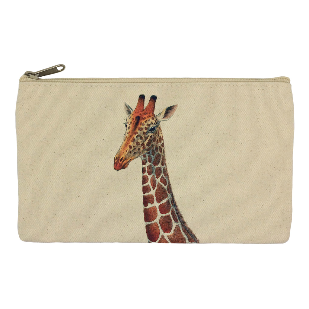 Giraffe head pencil case