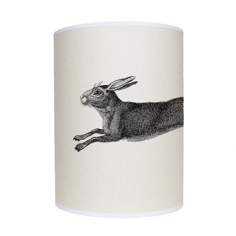 Leaping hare lamp shade/ ceiling shade