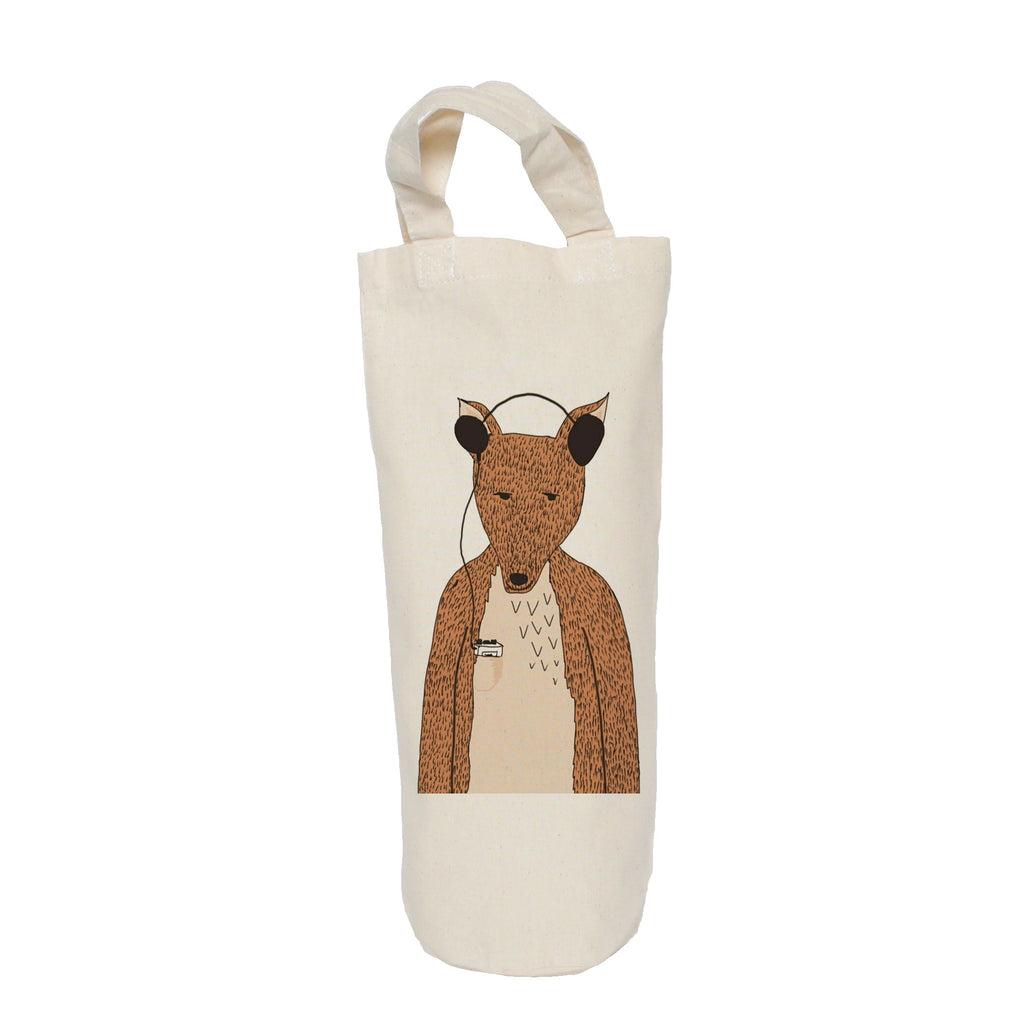 Hollywood the fox bottle bag