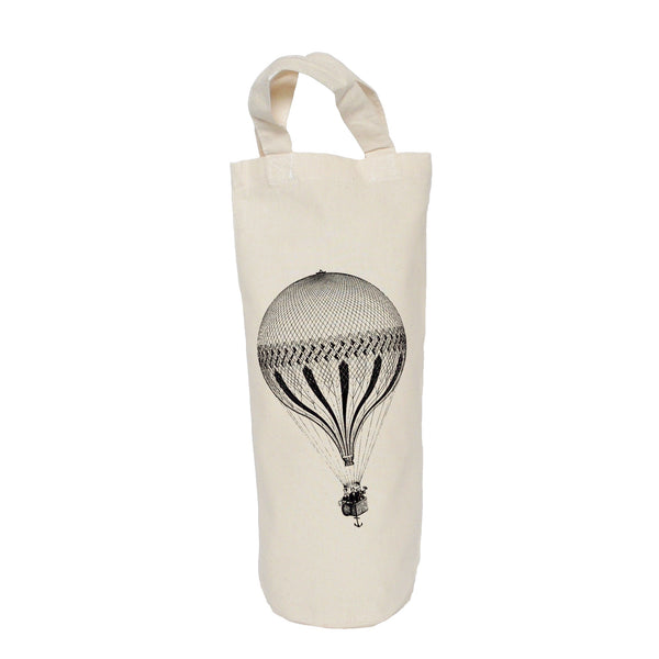 Hot air balloon bottle bag