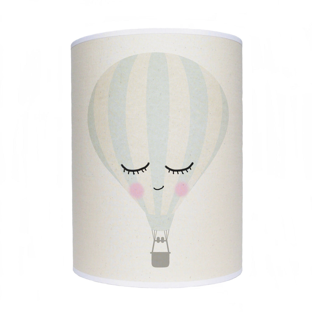Sleepy face hot air balloon lamp shade/ ceiling shade