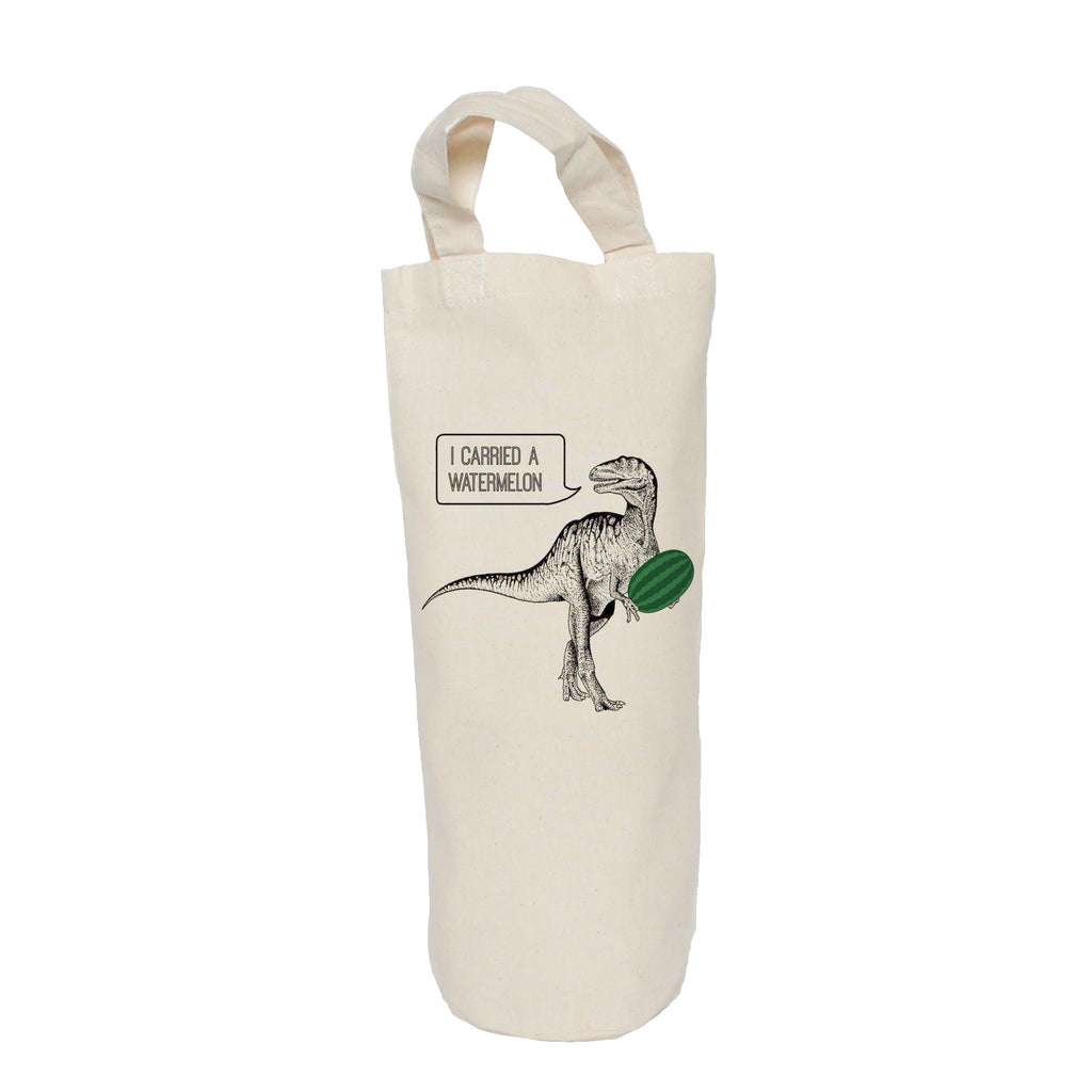 Dirty dinosaur bottle bag