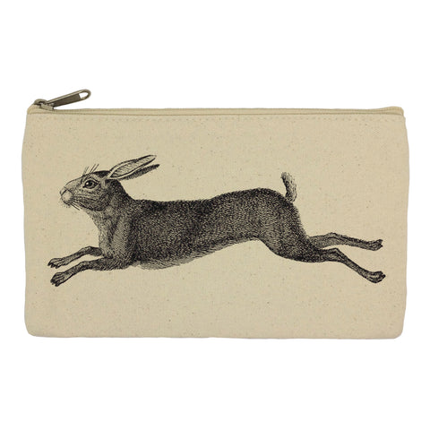 Leaping hare pencil case