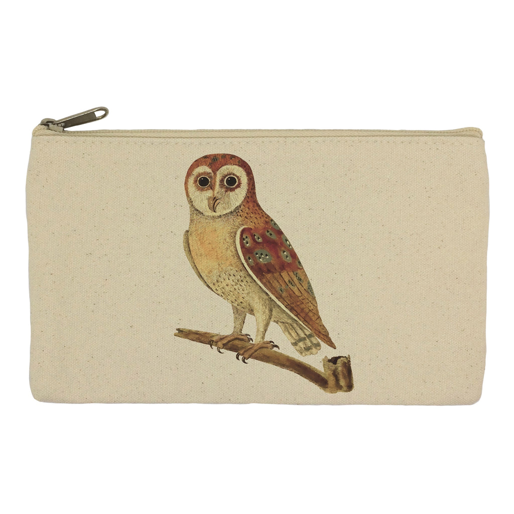 Owl on a stick pencil case