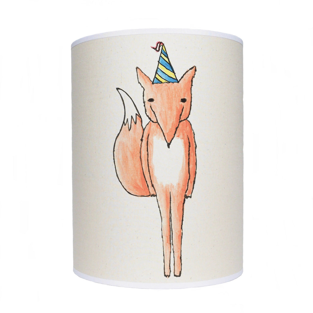 Party fox lamp shade/ ceiling shade