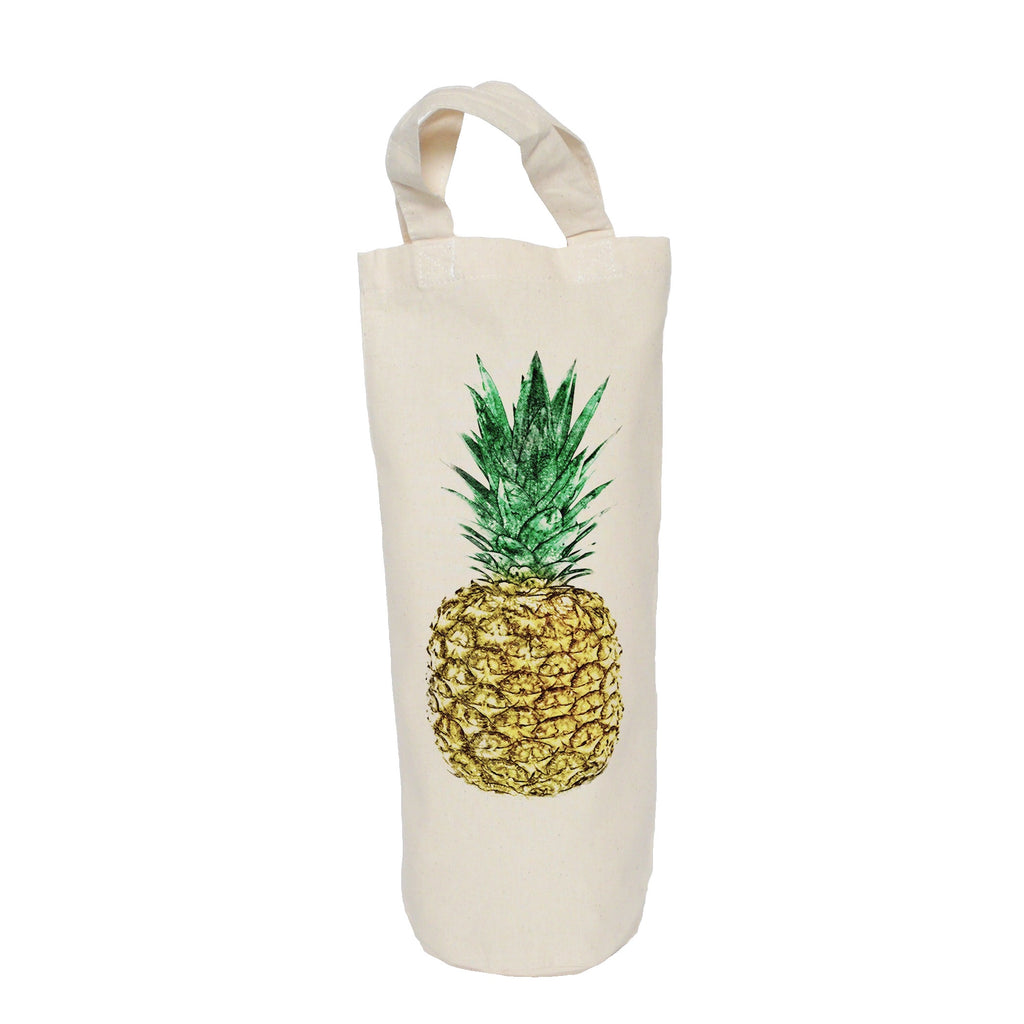 Pineapple bottle bag