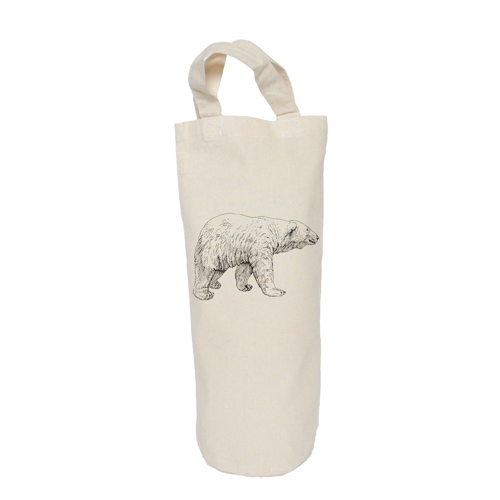 Polar bear bottle bag