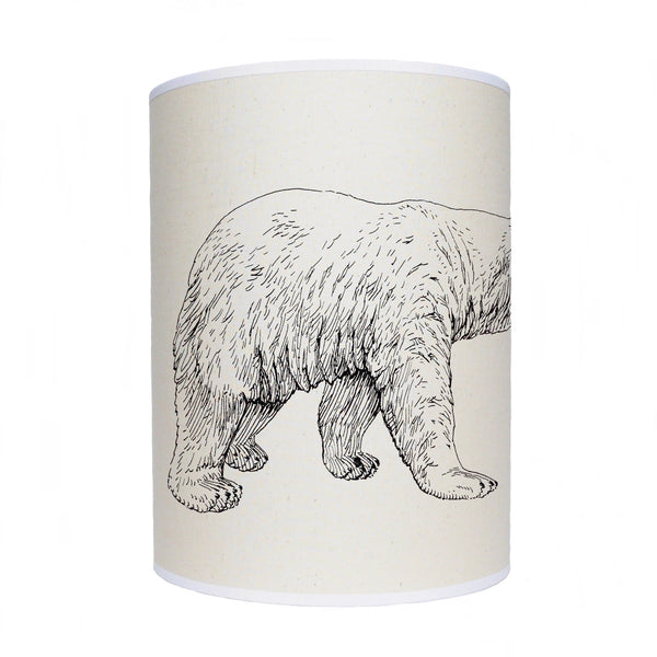 Polar bear lamp shade/ ceiling shade