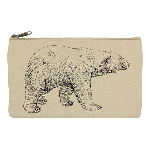 Polar bear pencil case