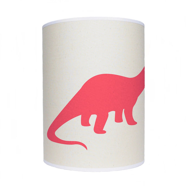 Dinosaur lamp shade/ ceiling shade/ red dinosaur