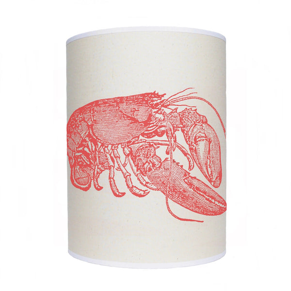 Lobster lamp shade/ ceiling shade/ red lobster