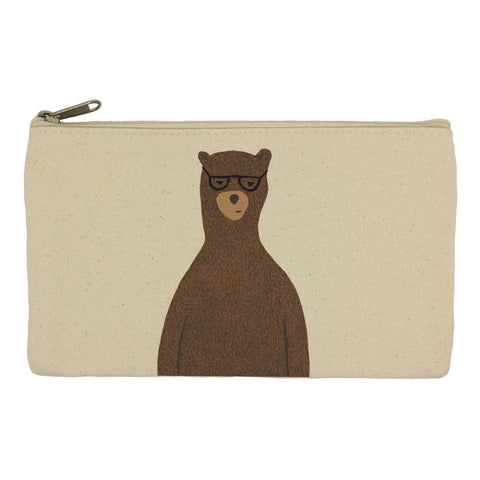 Reginald the bear pencil case