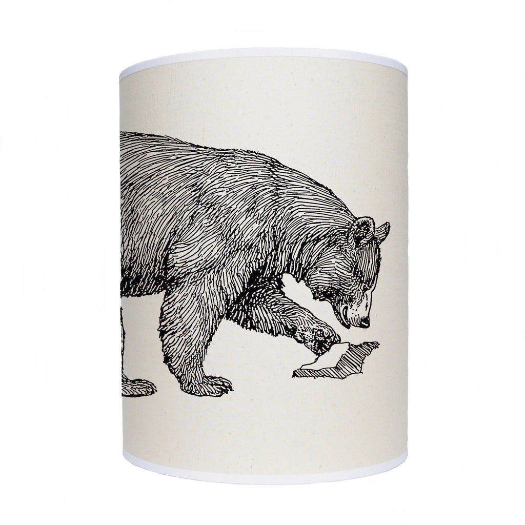 Bear lamp shade/ ceiling shade