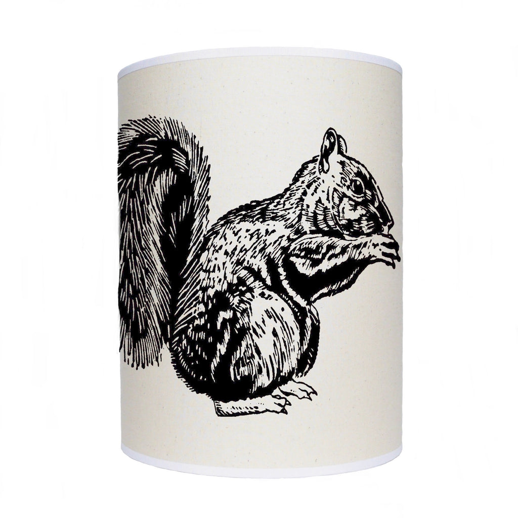 Squirrel lamp shade/ ceiling shade