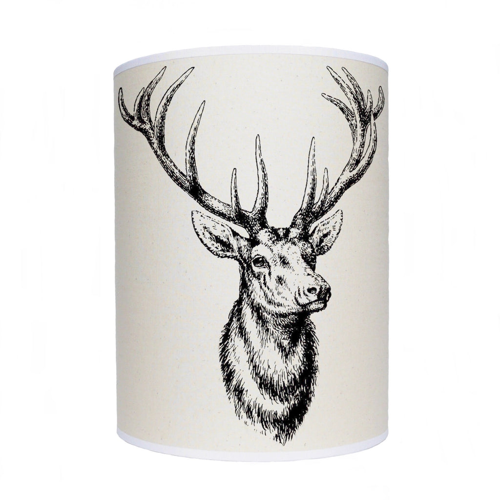 Stag head lamp shade/ ceiling shade