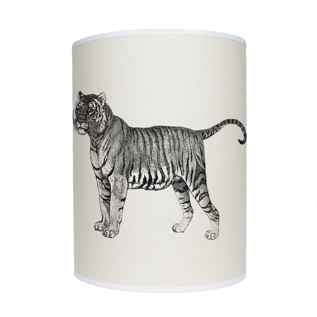 Tiger lamp shade/ ceiling shade