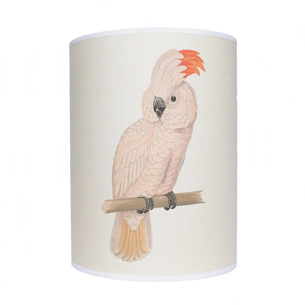 White parrot lamp shade/ ceiling shade