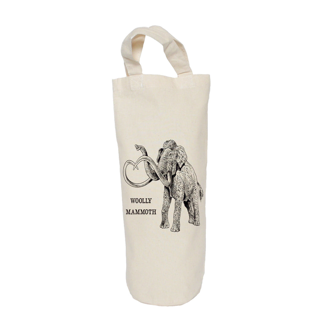 Woolly mammoth bottle bag