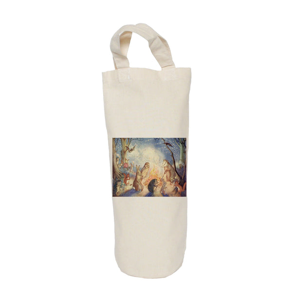 Woodland animals bottle bag