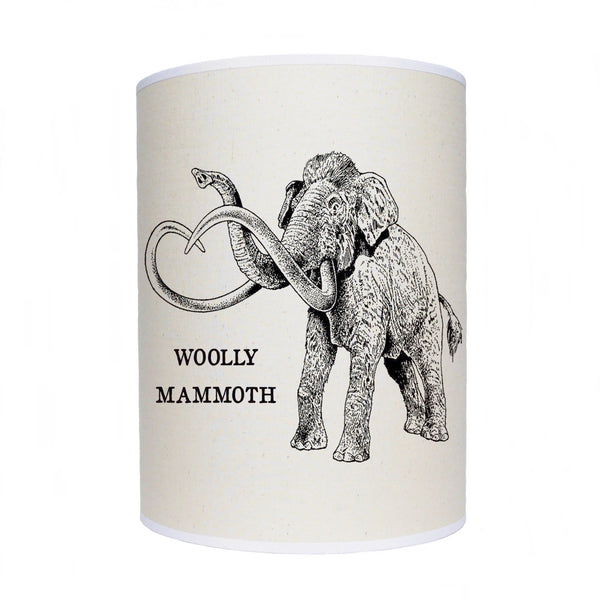Woolly mammoth lamp shade/ ceiling shade/ dinosaur