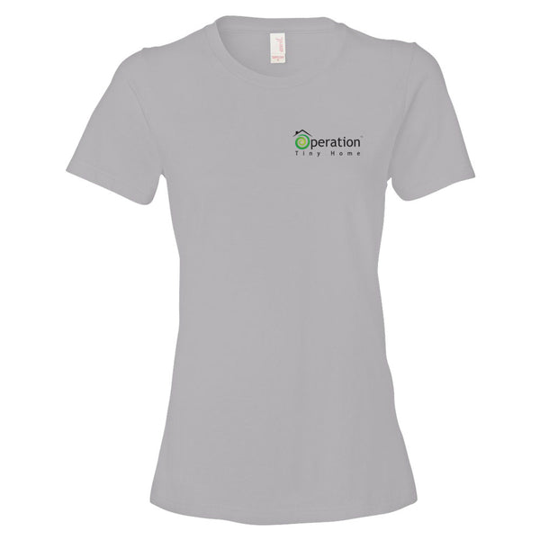 Women's T-Shirt - Operation Tiny Home (Left)