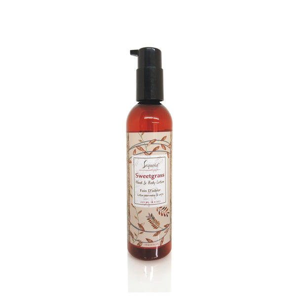 Sweetgrass Lotion - LARGE TESTER