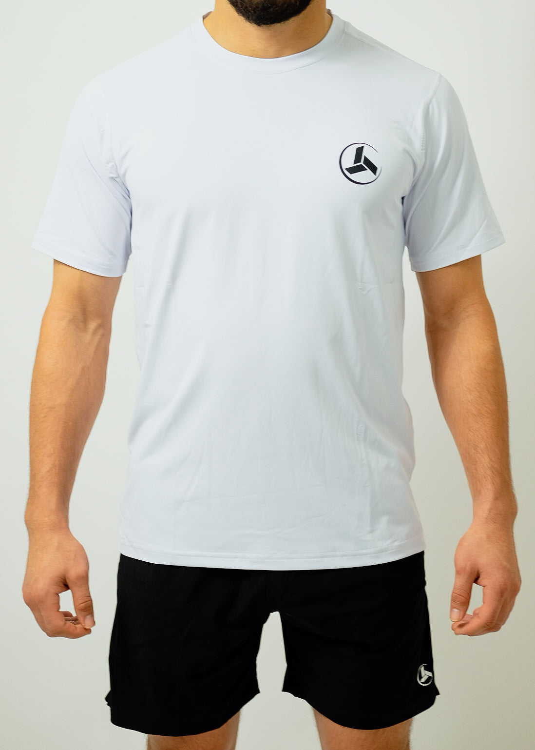 Men's Dry-Fit Moisture Wicking Active Athletic Performance T-Shirt