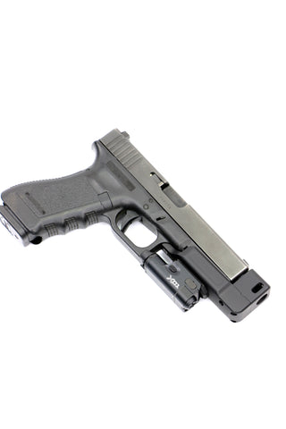 COMPENSATED GLOCK STAND OFF DEVICE W/ RAIL