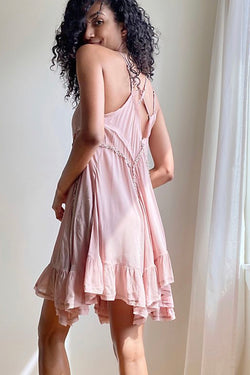 Free People Sway with Me Trapeze Slip Dress