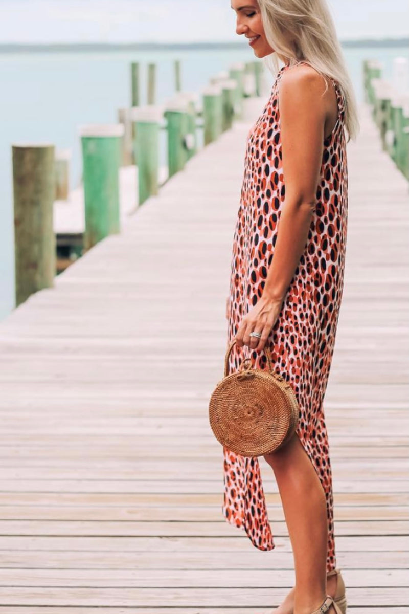 Milly Hand Woven Rattan Circle Bag