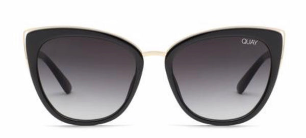 Quay Australia, quality, stylish, chic, Sunglasses, honey, cat eye, black