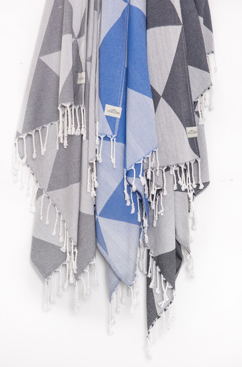 Tofino Towel - Premium Light Weight Turkish Towels - The Chinook Series