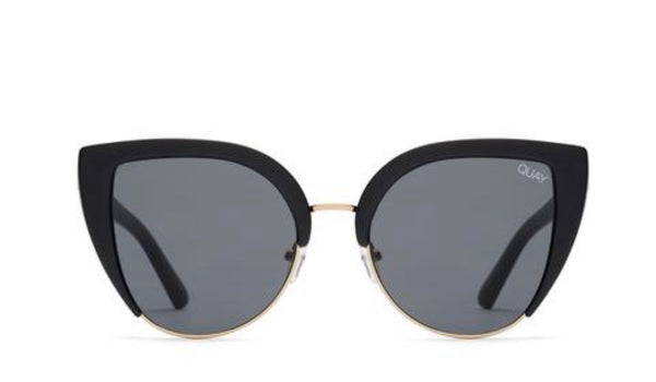 Quay Australia, quality, stylish, chic, Sunglasses, Oh My Dayz, cat eye, black