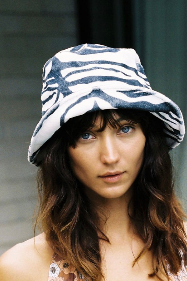 Lack of Color Zebra Bucket Hat