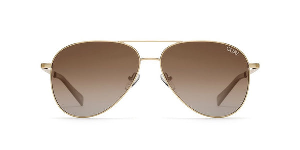 Quay Australia, Men's, Sunglasses, still standing, gold