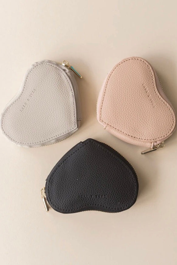 Lark & Ives| heart| coin| purse|