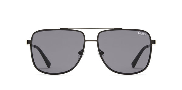 Quay Australia, Men's, Sunglasses, modern times, Black