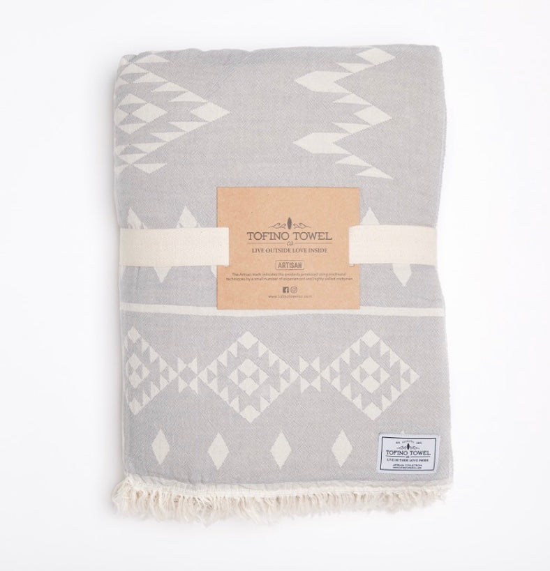 Tofino Towel - Luxury Home Throws - The Coastal Throw