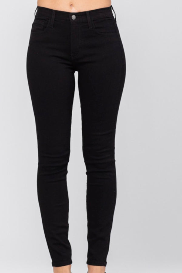 Zoe Black High Waist Skinny Jeans