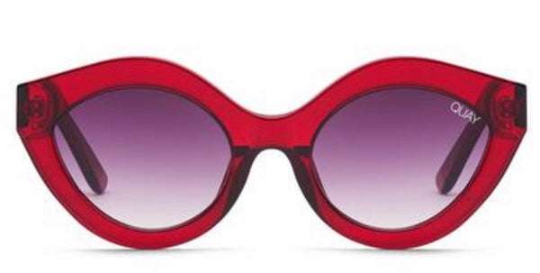 Quay Australia, quality, stylish, chic, Sunglasses, good night kiss, red