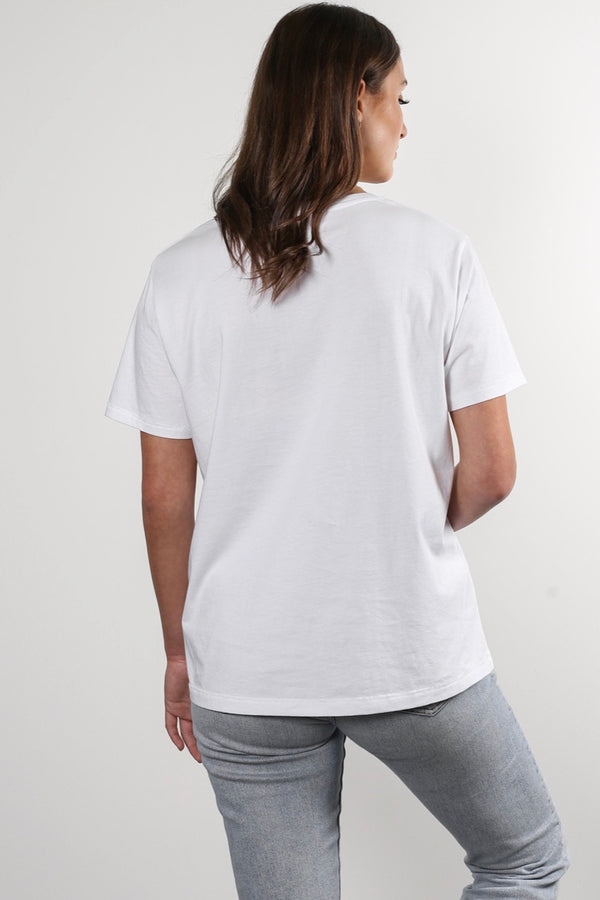 "Brunette The Label Classic Crew Neck ""Brunette"" Tee"