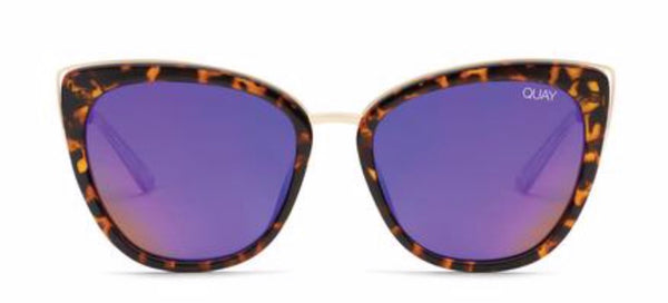Quay Australia, quality, stylish, chic, Sunglasses, honey, cat eye, tortoise, purple