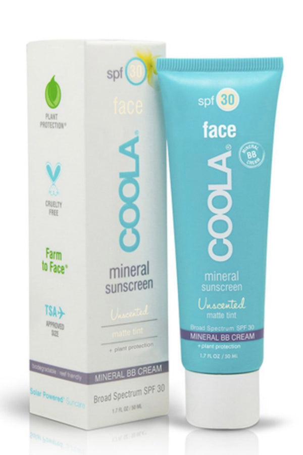 Coola Mineral Face SPF 30 Matte Tint Natural BB Cream