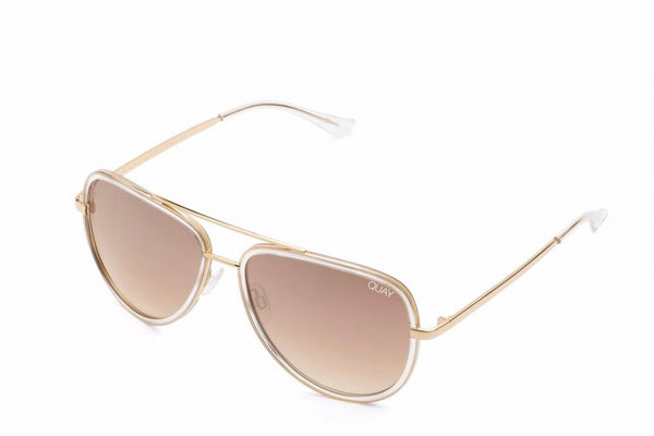 Quay Australia Sunglasses - All In Clear