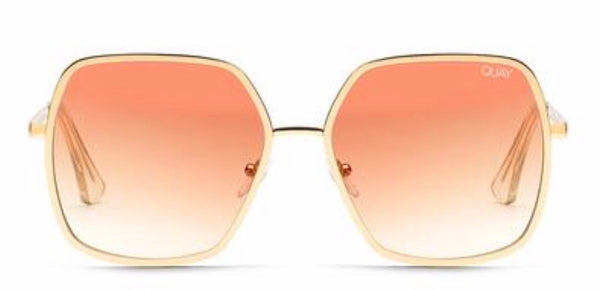Quay Australia, quality, stylish, chic, Sunglasses, Undercover, Gold, Peach