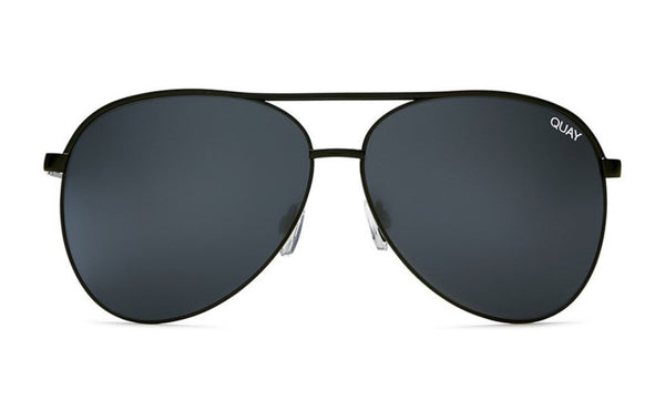 Quay Australia, quality, stylish, chic, Sunglasses, Vivienne, black