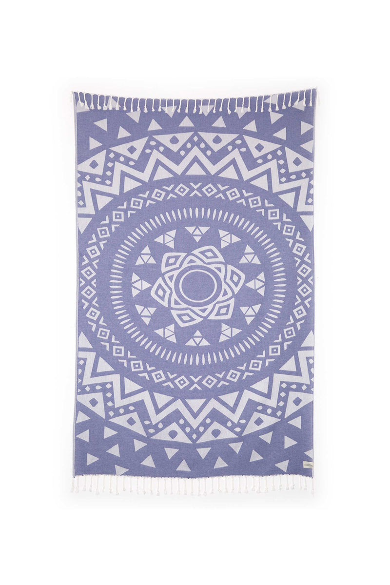Tofino Towel, Light Weight, Towel, Luxury, Home, Throw, blanket, the radar, bamboo, cotton, blue
