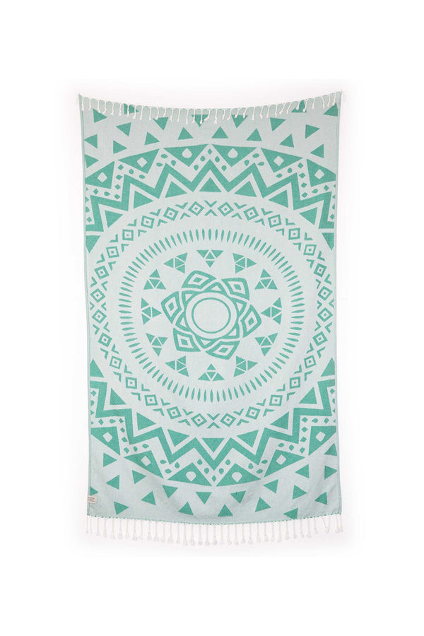 Tofino Towel, Light Weight Towel, Luxury turkish towels canada,, the radar tofino towel , turquoise beach towel